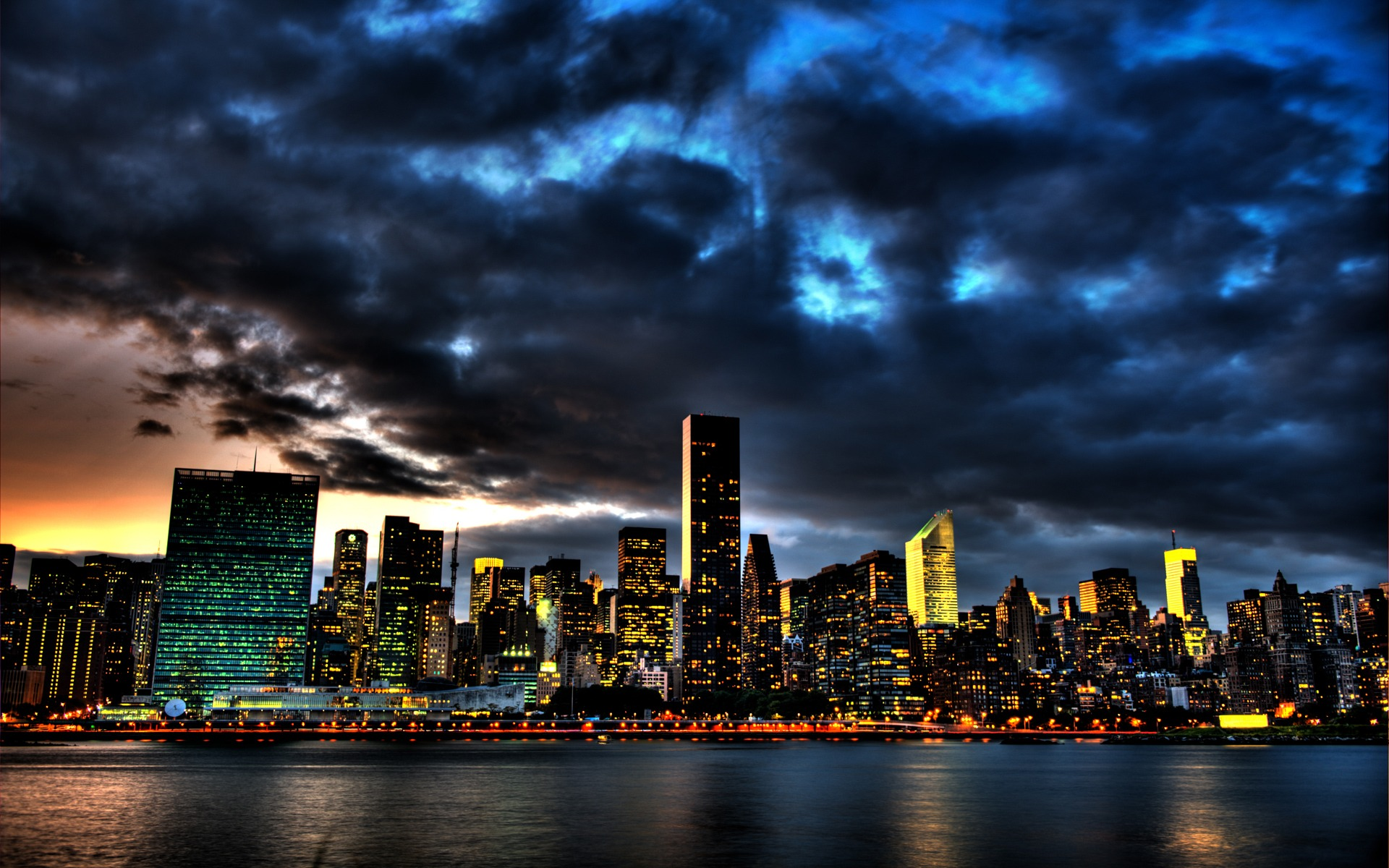 Night City Lights Wallpapers Pack – 3 – 38